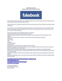 Fakebook Lesson Plan