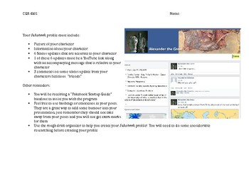 Fakebook Project