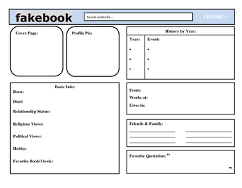 Fakebook- Character Study & Prove It!