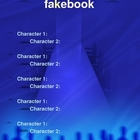 Fakebook Template