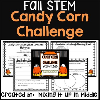 STEM Lab:  Fall/Halloween/Thanksgiving Themed-The Candy Co