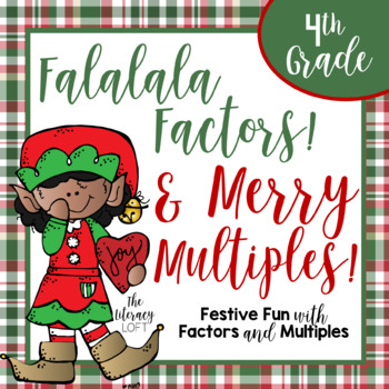 Factors & Multiples Christmas-Themed