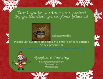Falalala Fractions: 4th Grade Christmas-Themed Fraction Word Problems