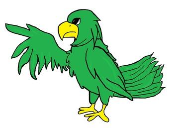 Falcon or Eagle Clipart