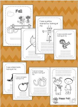 Fall Activities for preschool, kindergarten, first grade