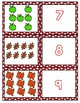 Fall 1-10 Cards ~ 1:1 Correspondence, Subitize, Numeral Recognition