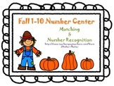 Fall 1-10 Number Center