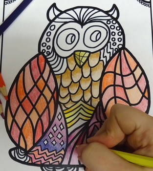 Fall Activities: Fall Craft and Coloring