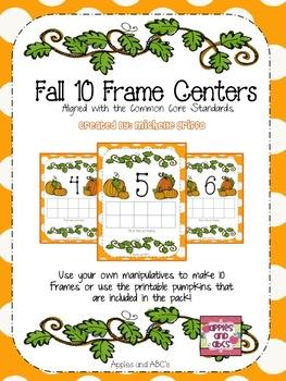 Fall 10 Frame Math Centers