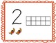 Fall 10 Frame Mats 1-20 (Used with Manipulatives or Playdough)