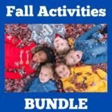 Fall Activities | Preschool Kindergarten 1st Grade BUNDLE