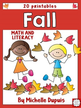 Fall - Math and Literacy printables