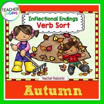 Fall Activities: Inflectional Endings Word Sort