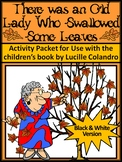 Fall Reading Activities: Old Lady Who Swallowed Some Leave