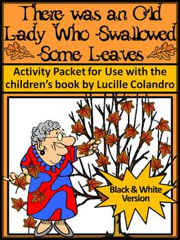 Fall Reading Activities: Old Lady Who Swallowed Some Leaves