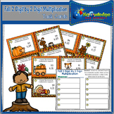 Fall 2 Digit By 2 Digit Multiplication Task Cards With Res