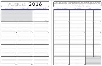 Fall 2018 Plan Book
