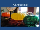 All About Fall PowerPoint and Activities