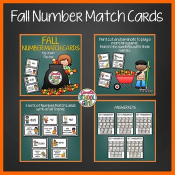 Fall Activities BUNDLE (Math Game and Picture Writing Prompts)