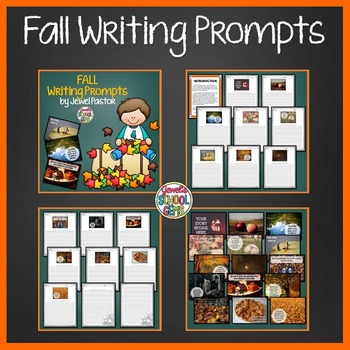Fall Activities BUNDLE (Fall Math Game and Fall Writing Prompts)