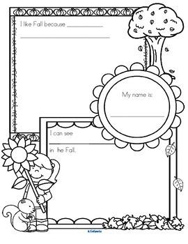 Fall No-Prep Activities and Printables Pack Preschool