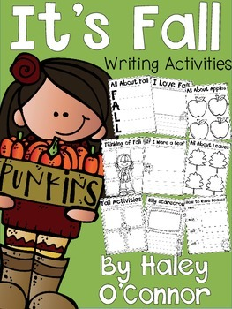 Fall Writing Printables, Activities, and Flipbooks