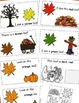 Fall Colors Emergent Reader and Cut and Paste, Fall Activities