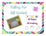 Falling for QR Codes-2D Shape Graphing
