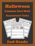 Halloween 2nd Grade Math Assessment Tasks