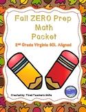 Fall 2nd Grade Math Packet - VA SOLS (Updated)