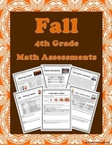 Fall 4th Grade Math Assessment Tasks