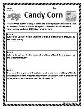 Fall 4th Grade Math Assessment Tasks