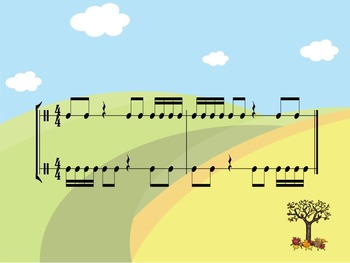 Fall - A Two-Part Rhythm Challenge to Practice Sixteenth Notes