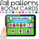 Fall AB Patterns Boom™ Cards - Distance Learning for Speci
