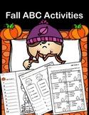 Autumn (Fall) ABC (Alphabetical) Order Activities