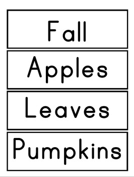 Fall ABC Order Center