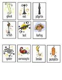 Fall ABC Order Sorting Cards