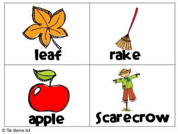Fall ABC Order and Write the Room