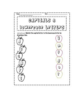 Fall ABC Packet