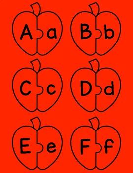 Fall ABC Puzzle