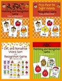 Fall Letter and Word Game Bundle and BONUS!