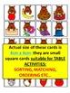 ACORNS ALPHABET ACTIVITIES FOR KINDERGARTEN