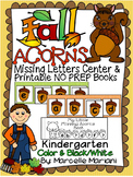 ACORNS LITERACY CENTER ACTIVITY- fill in the missing letters (FALL theme)