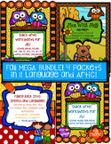 Fall ARTICULATION & LANGUAGE Speech Therapy MEGA PACK