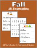Fall (ASL Fingerspelling)