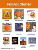 Fall ASL Stories online - digital handout