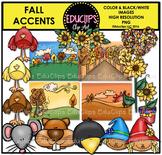 Fall Accents Clip Art Bundle {Educlips Clipart}