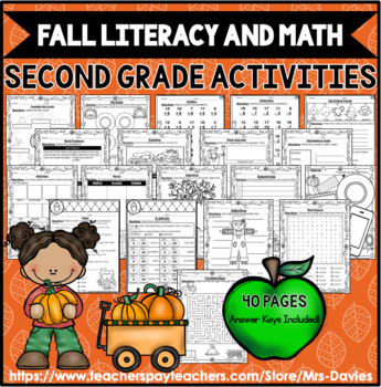 Fall Acitivities by Mrs Davies