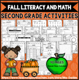 Fall Literacy and Math Activities Mrs Davies