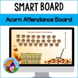 Fall Acorns Attendance Board